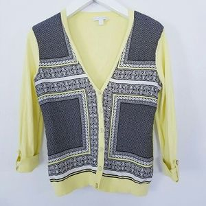 New York Company Cardigan Sweater Size M